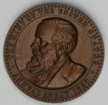 Assay Medals: , 1890 Assay Commission Medal. MS65 Brown Uncertified. Julian AC-33, R4. Copper, 33.6 mm., 319.4 grains. R.W. Julian noted tha...