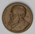Assay Medals: , 1892 Assay Commission Medal. MS63 Uncertified. Julian AC-36, R.5.Copper, 33.7 mm., 294.8 grains. A bust of Benjamin Harriso...