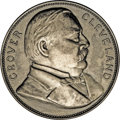 Assay Medals: , 1896 Assay Commission Medal. MS60 Uncertified. Julian AC-40, R.5. Silver, 33.7 mm., 356.5 grains. A bust of Grover Cleveland...