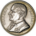 Assay Medals: , 1898 Assay Commission Medal. PR60 Uncertified. Julian AC-42, R.5. Silver, 34.0 mm., 321.0 grains. The obverse features a ful...