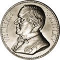 Assay Medals: , 1899 Assay Commission Medal. MS60 Uncertified. Julian AC-43, R.5. White Metal, 34.0 mm., 240.7 grains. The obverse depicts P...