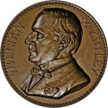 Assay Medals: , 1899 Assay Commission Medal. MS64 Brown Uncertified. Julian AC-43, R.5. Copper, 34.0 mm., 322.5 grains. The obverse is ident...