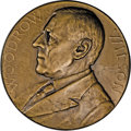 Assay Medals: , 1920 Assay Commission Medal. MS62 Uncertified. Julian AC-64, R.5.Bronze, 51.0 mm., 717.6 grains. Woodrow Wilson faces left ...