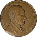 Assay Medals: , 1928 Assay Commission Medal. MS60 Uncertified. Julian AC-72, R.4.Bronze, 50.9 mm., 888.9 grains. A signed medal with the na...