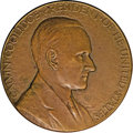 Assay Medals: , 1929 Assay Commission Medal. AU50 Uncertified. Julian AC-73, R.4.Bronze, 50.9 mm., 922.9 grains. A signed medal with the na...
