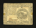 Colonial Notes:Continental Congress Issues, Continental Currency July 22, 1776 $4 Extremely Fine. Here is anote from this issue that we seldom encounter. This lightly ...