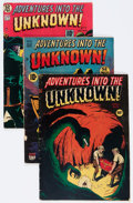 Golden Age (1938-1955):Horror, Adventures Into The Unknown Group (ACG, 1949-50).... (Total: 5Comic Books)