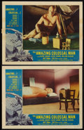 "Movie Posters:Science Fiction, The Amazing Colossal Man (American International, 1957). LobbyCards (2) (11"" X 14""). Science Fiction.. ... (Total: 2 Items)"