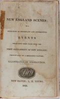 Books:Americana & American History, [New England]. New England Scenes: or a Selection of Importantand Interesting Events. L. H. Young, 1833. Marbled pa...