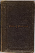 Books:Americana & American History, The Drama of Drunkenness; or, Sixteen Scenes In the Drunkard'sTheatre. American Sunday-School Union, 1858. Minor ru...