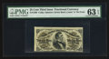 Fractional Currency:Third Issue, Fr. 1296 25¢ Third Issue PMG Choice Uncirculated 63 EPQ.. ...
