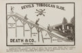 Books:Prints & Leaves, 19th Century Print Entitled, Devil's Toboggan Slide.Hunting, 1887. Approx. 6 x 9.5 inches. Very good....