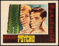 "Movie Posters:Hitchcock, Psycho (Paramount, 1960). Lobby Card (11"" X 14""). Hitchcock.. ..."
