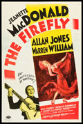 """Movie Posters:Musical, The Firefly (MGM, 1937). One Sheet (27"""" X 41"""") Style C. Musical.. ..."""