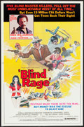 "Movie Posters:Blaxploitation, Blind Rage (Trans World, 1978). One Sheet (25"" X 38"").Blaxploitation.. ..."