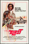 "Movie Posters:Blaxploitation, Blast (New World, R-1976). One Sheet (27"" X 41""). Blaxploitation. Re-release title of The Final Comedown.. ..."