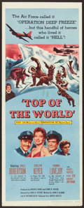 """Movie Posters:Adventure, Top of the World & Others Lot (United Artists, 1955). Inserts(3) (14"""" X 36""""). Adventure.. ... (Total: 3 Items)"""