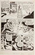 """Original Comic Art:Panel Pages, Jack Kirby and Joe Simon Adventures of the Fly #1 """"Come intoMy Parlor"""" Page 5 Original Art (Archie, 1959)...."""