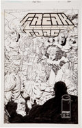 Original Comic Art:Covers, Victor Bridges Freak Force #4 Cover Original Art (Image,1994)....