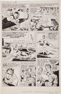 Original Comic Art:Panel Pages, Jack Kirby and Joe Simon The Double Life of PrivateStrong #1 Page 21 Original Art (Archie, 1959)....