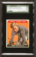 Baseball Cards:Singles (1930-1939), 1933 Goudey Sport Kings Bobby Walthour #7 SGC 70 EX+ 5.5....