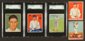 Baseball Cards:Lots, 1933 & 1934 Goudey Baseball Collection of HoFers (5) ...