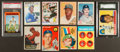 Baseball Cards:Lots, 1950's-1980's Topps Baseball Hall of Famers Rookie Card Collection(10). ...