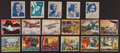 Non-Sport Cards:Lots, 1930's-1940's Non-Sports Collection (48) With Superman, MickeyMouse and Movie Stars. ...