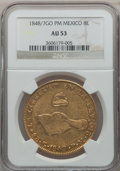 Mexico, Mexico: Republic gold 8 Escudos 1848/7Go-PM,...