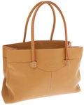 Luxury Accessories:Bags, Tod's Light Brown Leather Everyday Tote Bag. ...