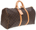 Luxury Accessories:Travel/Trunks, Louis Vuitton Classic Monogram Keepall 50cm Weekender Bag. ...