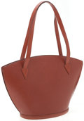 Luxury Accessories:Bags, Louis Vuitton Brown Epi Leather St. Jacques GM Tote Bag. ...