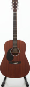 Musical Instruments:Acoustic Guitars, 2011 Martin DRS1-L Left-Handed Natural Acoustic Electric Guitar, Serial # 1527694...
