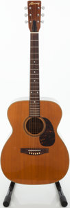 Musical Instruments:Acoustic Guitars, Circa 1974 Alvarez 5014 Natural Acoustic Guitar....