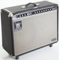 Musical Instruments:Amplifiers, PA, & Effects, 1970s Music Man 212-HD 150 Black Guitar Amplifier, Serial # C008343....