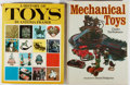 Books:Americana & American History, [Toys]. Lot of Two Reference Books About Toys. [Various publishers,dates, editions]. Generally good.... (Total: 2 Items)