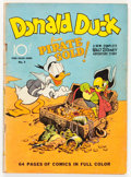 Golden Age (1938-1955):Cartoon Character, Four Color #9 Donald Duck (Dell, 1942) Condition: GD/VG....