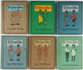 """Books:Children's Books, Lucy Fitch Perkins. Lot of Six """"Twins"""" Children's Books. Houghton,Mifflin, [various dates, editions]. Generally good.... (Total: 6Items)"""