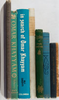 Books:Literature Pre-1900, [Rubaiyat by Omar Khayyam]. Lot of Eight Titles Related to theRubaiyat. [Various publishers, dates, editions]. Generally fa...(Total: 8 Items)