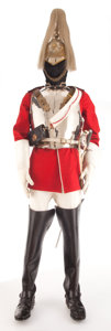 Miscellaneous, A BRITISH LIFE GUARDS UNIFORM. 20th century. 82-1/2 inches high(209.6 cm). The Elton M. Hyder, Jr. Charitable and Educati...(Total: 11 Items)