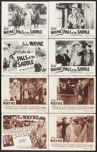 """Overland Stage Raiders & Other Lot (Republic, R-1953). Lobby Card Sets of 4 (2) (11"""" X 14""""). Western..."""