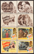 """Movie Posters:War, The Fighting Seabees (Republic, R-1948 & R-1954). Lobby CardSets of 4 (2) (11"""" X 14""""). War.. ... (Total: 8 Items)"""