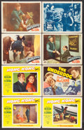 "Movie Posters:Adventure, Hong Kong & Others Lot (Paramount, 1951). Title Lobby Card& Lobby Card (15) (11"" X 14""). Adventure.. ... (Total: 16Items)"