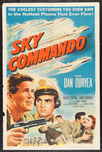 """Sky Commando and Other Lot (Columbia, 1953). One Sheets (2) (27"""" X 41""""). War. ... (Total: 2 Items)"""