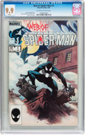 Modern Age (1980-Present):Superhero, Web of Spider-Man #1 (Marvel, 1985) CGC MT 9.9 Off-white to white pages....