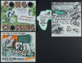 """Movie Posters:Adventure, Congo Crossing & Others Lot (Universal International, 1956).Studio Mailers (3) (3.5"""" X 8.5""""). Adventure.. ... (Total: 3 Items)"""
