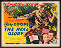 """Movie Posters:War, The Real Glory (United Artists, 1939). Title Lobby Card (11"""" X14""""). War.. ..."""