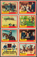 """Movie Posters:Western, The Horse Soldiers (United Artists, 1959). Lobby Card Set of 8 (11"""" X 14""""). Western.. ... (Total: 8 Items)"""