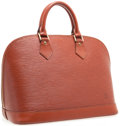 Luxury Accessories:Bags, Louis Vuitton Fawn Epi Leather Alma PM Top Handle Bag. ...