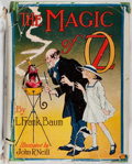 Books:Children's Books, L. Frank Baum. IN DUST JACKET. The Magic of Oz. Reilly &Lee, [1919]. First edition, first state in the original fir...